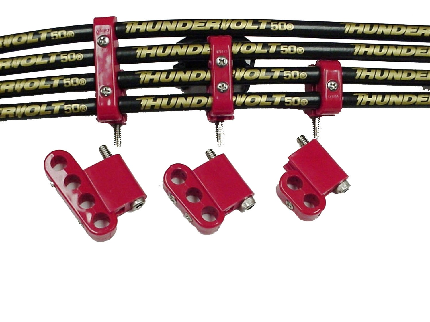 Taylor Wire / Vertex 42523 TAY42523 10.4 VERTICAL WIRE LOOM KIT RED ...