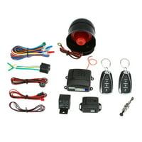 Universal Car Vehicle System Burglar Alarm Protection Anti-theft System 2 Remote