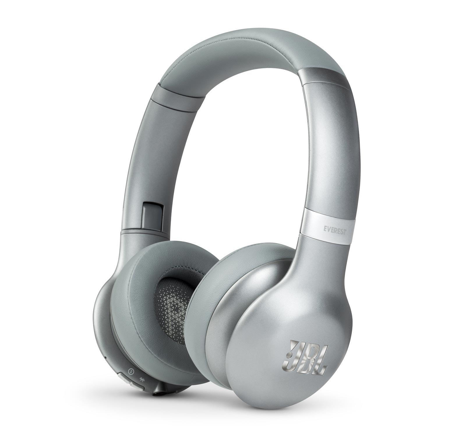 JBL Everest 310GA Silver On-Ear Bluetooth Headphones - Open Box