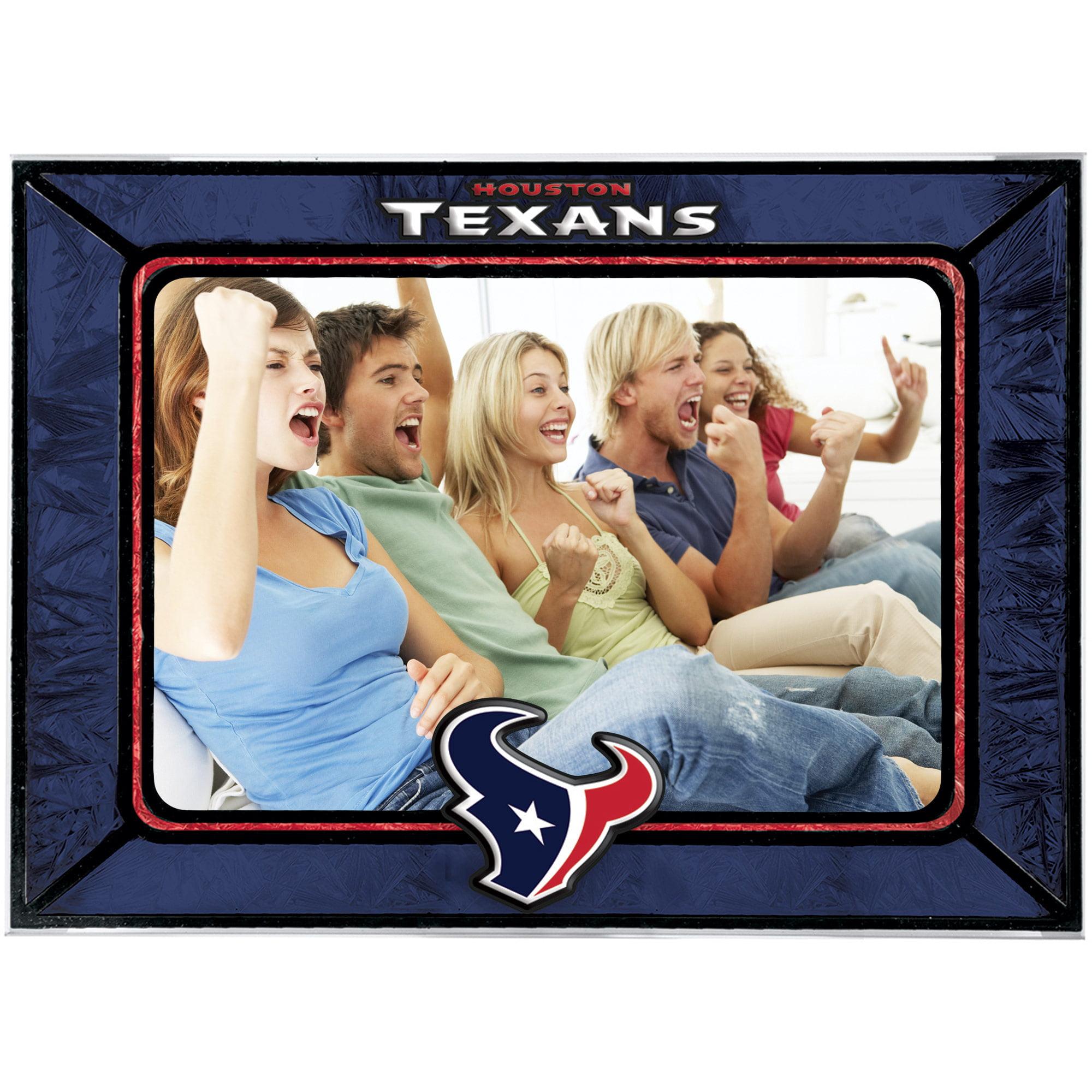 Houston Texans Horizontal Art Glass Frame - No Size