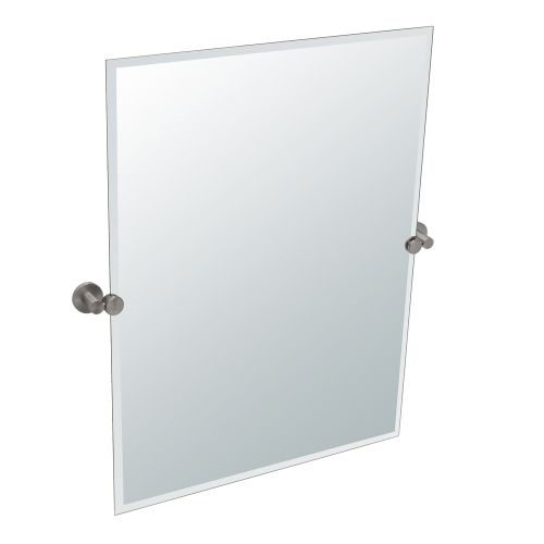 Gatco 4699S Channel Rectangular Beveled Tilting Wall Mirror by Gatco