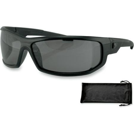 d2da89c41644 BOBSTER Axl Sunglasses Wrap (Smoke) - Walmart.com