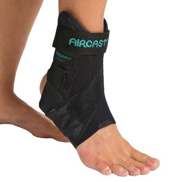 - AirCast AirSport Ankle Brace - Left Medium