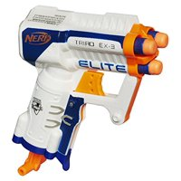 Deals on Nerf N-Strike Elite Triad EX-3 Blaster