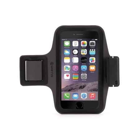 Griffin Armband - Griffin Trainer Plus for iPhone 6 Plus/6s Plus, The ultra-light armband that's built to go the distance.