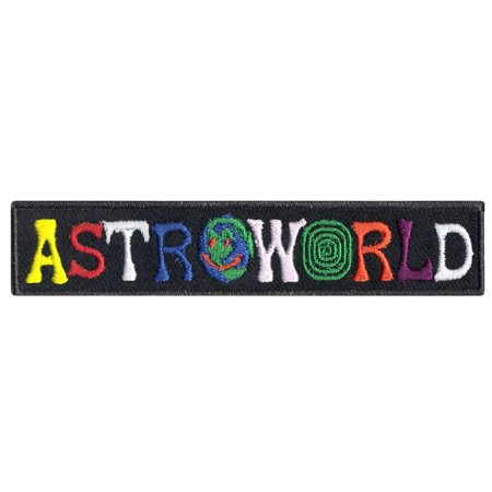 Astroworld Box Logo Iron On Patch - Ghostbusters Logo Patch