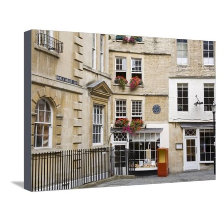 Sally Lunn's House, the Oldest House in Bath, Bath, Somerset, England,  United Kingdom, Europe Stretched Canvas Print Wall Art By Richard Cummins