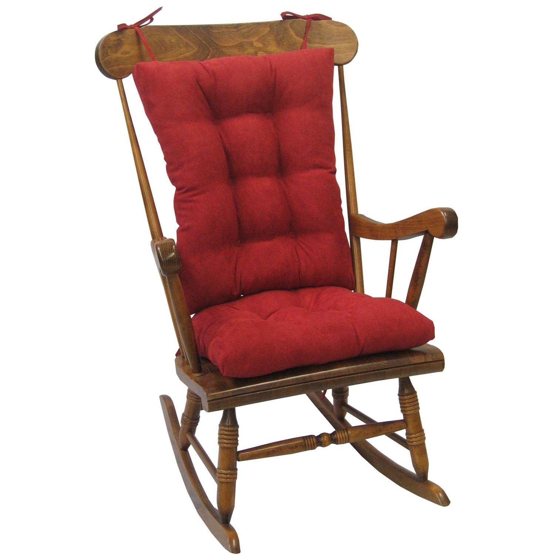 Gripper Non Slip 15 X 16 Sophia Stripe Tufted Chair Cushions Set