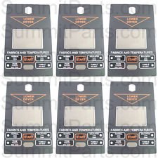 Full Overlay Panels - 6PK - LOWER CONTROL PANEL OVERLAY RH