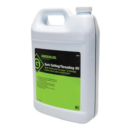 Greenlee 462-1 Thread Cutting Oil, Dark, 1-Gallon