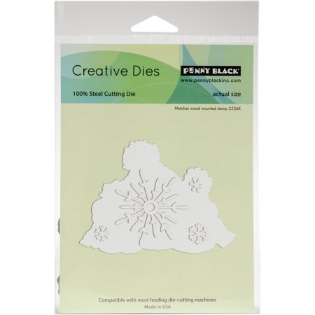 Penny Black Creative Dies-Snow Family Cut Out (Metallic Cut Out)