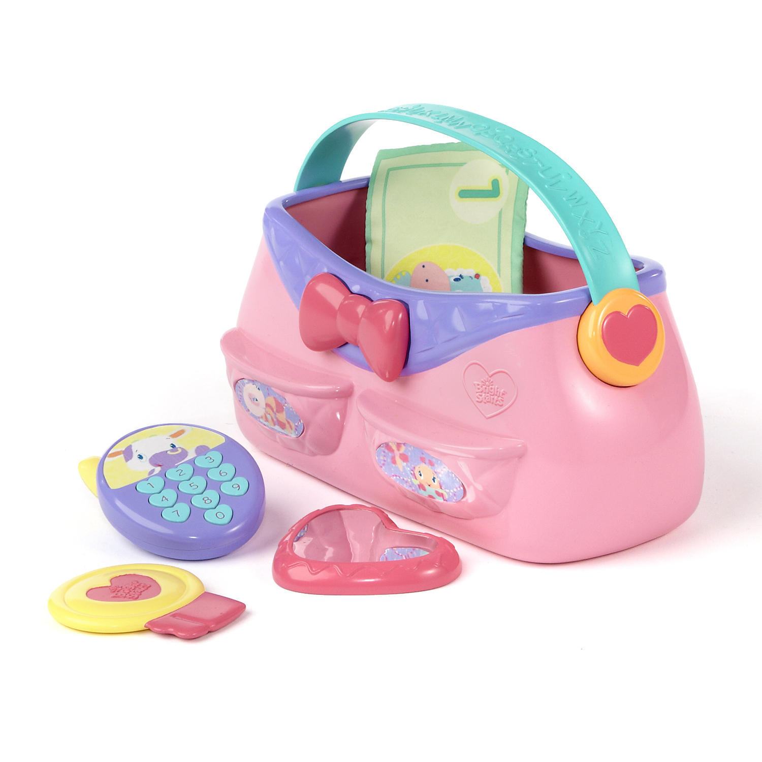 Bright Starts Put & Take Purse Toy