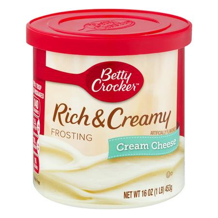 Betty Crocker® Gluten Free Frosting Rich & Creamy Cream ...