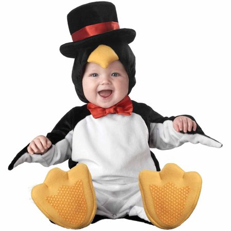 Lil' Penguin Elite Collection Infant Halloween - Party City Penguin Costume