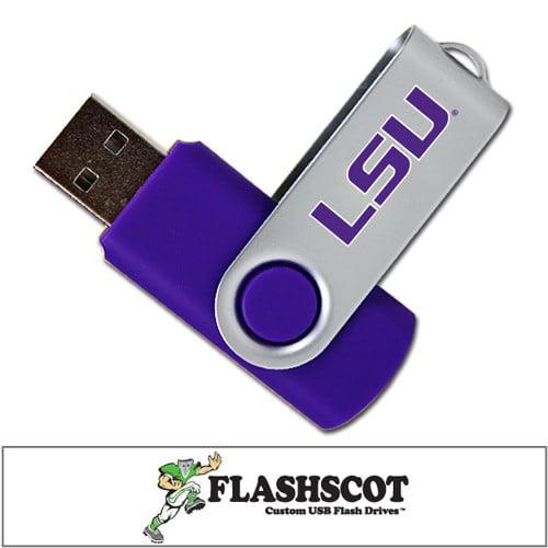 LSU Tigers Revolution USB Drive - 8GB