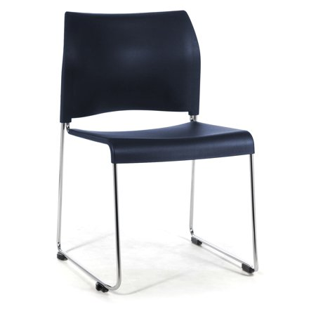 National Public Seating Sled Base Stacking Chair