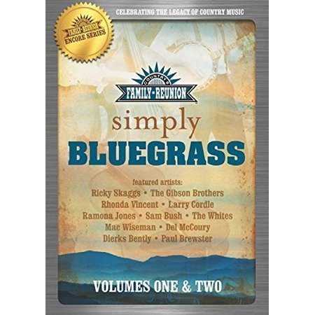 Country Family Reunion: Simple Bluegrass: Volume 1-2 (DVD) (Family Reunion Humor)
