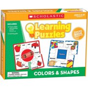 Scholastic Hands-On Learning Colors and Shapes Puzzles