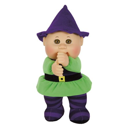 Cabbage Patch Cuties Samantha Witch 9 Inch Soft Body Baby Doll - Harvest Helper Collection - Halloween Witch Dolls