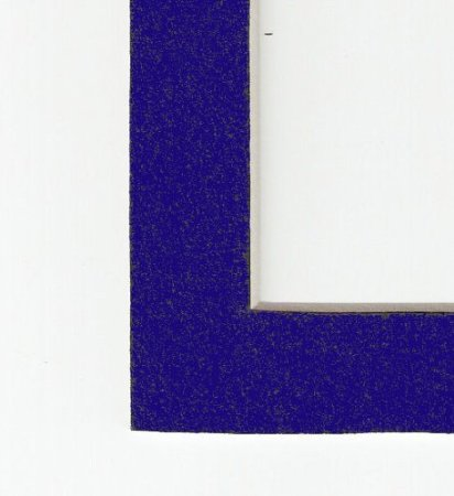 Navy Blue Acid Free Picture Frame Mat 8x10 Walmart Com