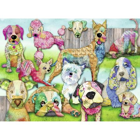 Ravensburger Patchwork Pups 150 Piece (150 Medium Puzzles)