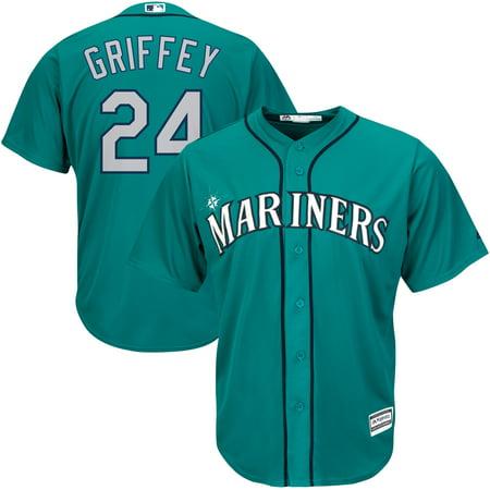Ken Griffey Jr. Seattle Mariners Majestic Cool Base Player Jersey - Northwest Green ()