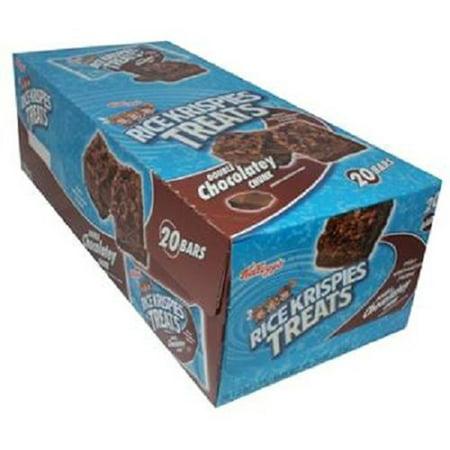 KELLOGGS RICE KRISPIES TREATS DOUBLE CHOCOLATEY CHUNK 1.3 oz Each ( 20 in a Pack - Rice Crispy Treats Halloween Recipes