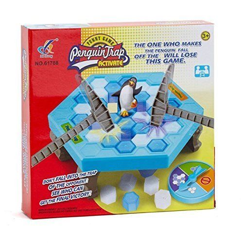Save Penguin On Ice Game Penguin Trap Party Ice Breaking Fun Novelty Gift