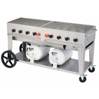 "60"" Club Series Grill with Two Horizontal Tanks - Propane"