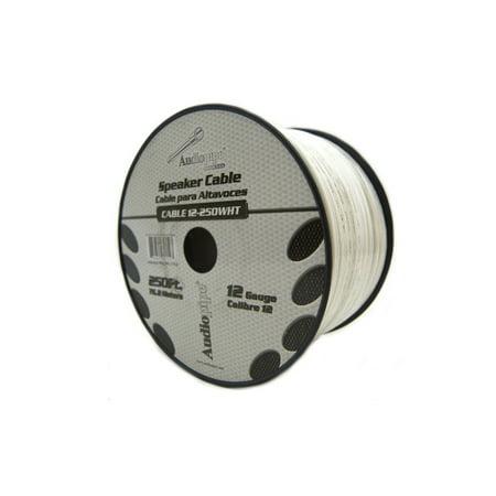 Audiopipe 12 Ga Gauge 250' White Speaker Wire Home Theater Car Audio (Best Cheap Wired Speakers)