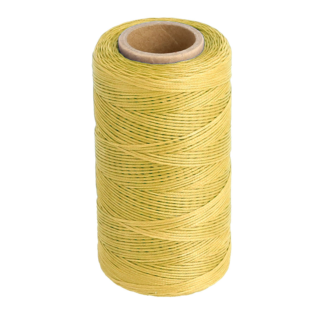 Polyester Leather Leatherware Crafting Sewing Thread String Reel Spool Yellow