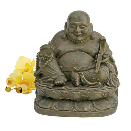 Design Toscano Laughing Buddha Sanctuary Statue