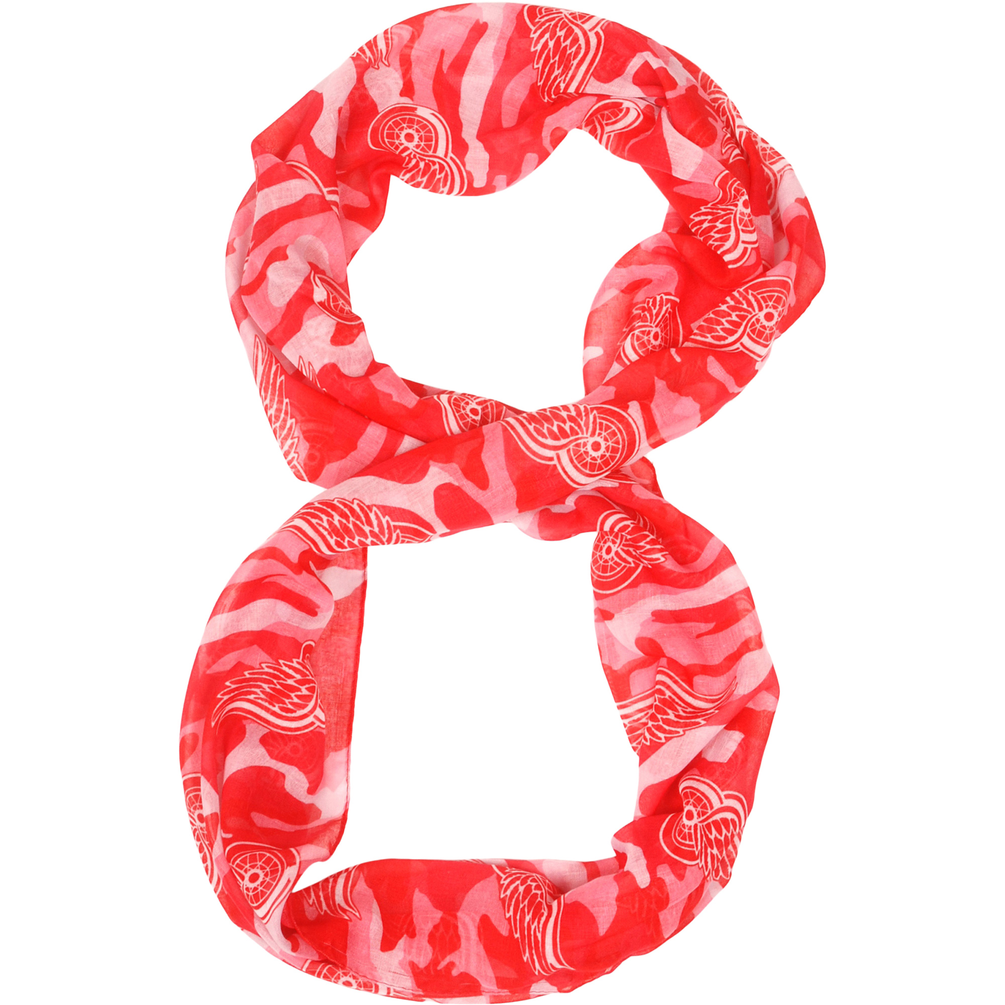 Detroit Red Wings Camo Infinity Scarf - No Size