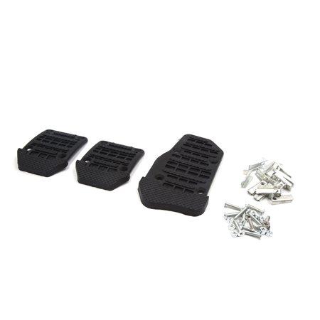 3 In 1 Black Car Auto Non-slip Pedal Pad Brake Clutch Accelerator Cover
