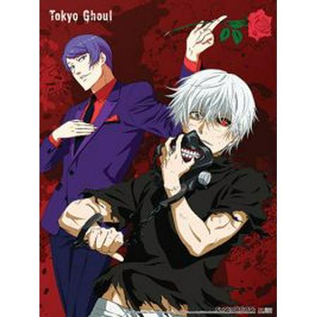 Fabric Poster - Tokyo Ghoul - New Kaneki & Tsukiyama Toys Licensed ge79574