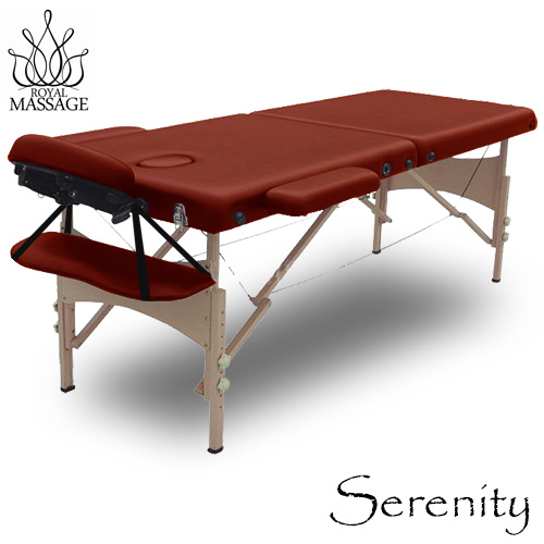 Vandue Serenity Deluxe Portable Folding Massage Table w/5...