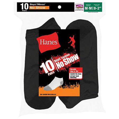 Boys No Show Socks, Pack 10