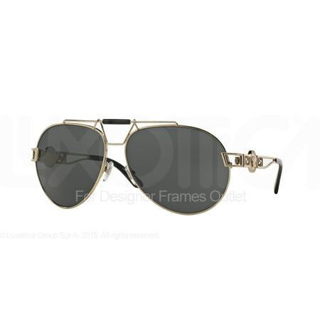 Versace VE2160 Sonnenbrille Gold 125287 63mm iMzyWR