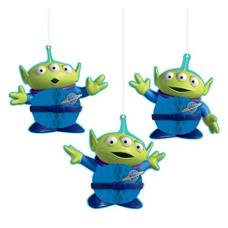 Toy Story 4 Honeycomb Decorations (3ct)