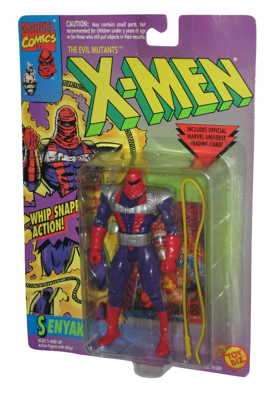 SENYAKA X-Men Marvel Action Figure Vintage 1994 Toy Biz