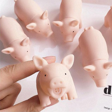 Cartoon Soft Cute Pig Tricking Children Toys Venting Pig Squeezing Toy - image 6 of 11