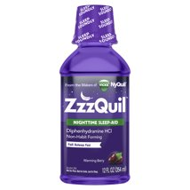 Cold & Flu: ZzzQuil Liquid