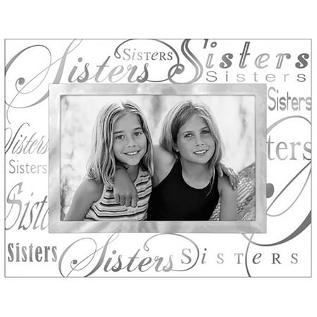 Malden Sisters 4x6 Metallic Glass Frame