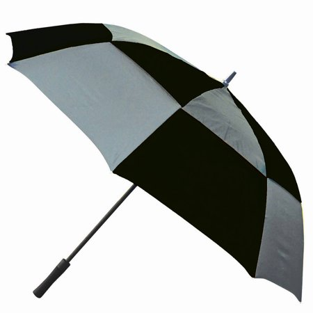 Look Umbrella (60 Double canopy golf umbrella, windproof, with black rubberspray molded handle )