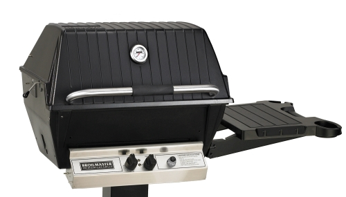 Broilmaster Super Premium Natural Gas Grill Head with Stainless Steel Burner & Extra Tall Lid by