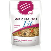 Bear Naked Fit Triple Berry Crunch Granola, 12 oz, (Pack of 6)
