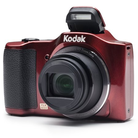 KODAK PIXPRO FZ152 Compact Digital Camera - 16MP 15X Optical Zoom HD 720p Video (Red)