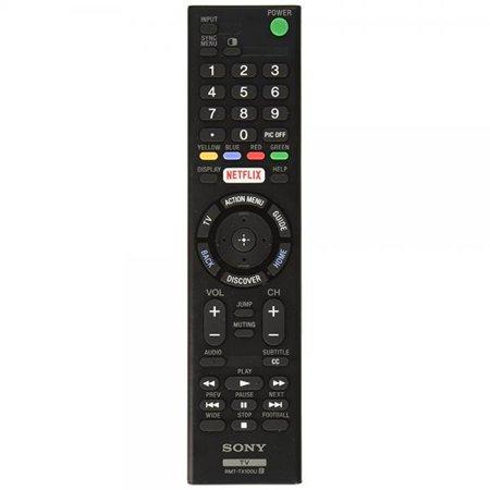Original Sony Led Smart Tv Remote Control Rmt Tx100u Netflix