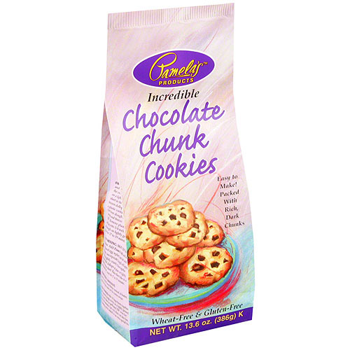 Pamela's Products Chocolate Chunk Cookie Mix, 13.6 oz (Pack of 6)