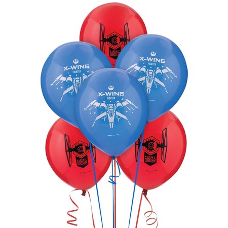 Star Wars Shaped Balloon - Star Wars Episode VII The Force Awakens Latex Balloons